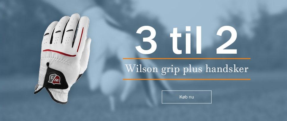 Køb 3 wilson greb plus handsker, betal kun for 2
