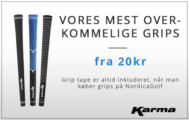 Karma Grips fra 20kr